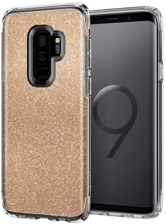 Spigen Slim Armor Crystal Glitter pro Samsung Galaxy S9+, gold