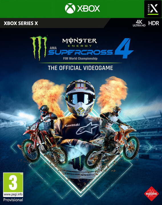 Monster Energy Supercross 4 (Xbox Series X)