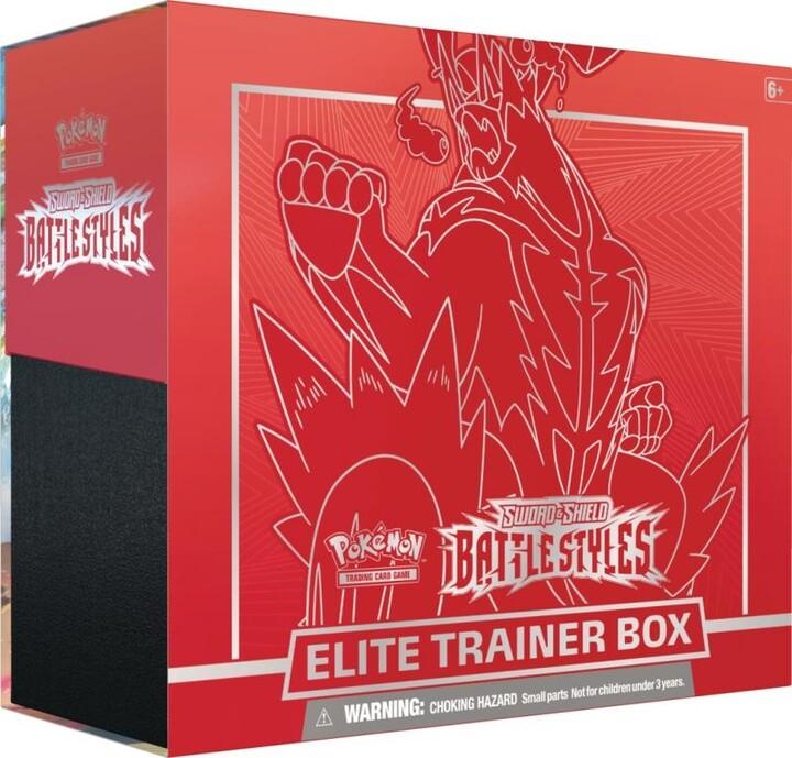 Karetní hra Pokémon TCG: Sword and Shield Battle Styles Elite Trainer Box - Single Strike Urshifu