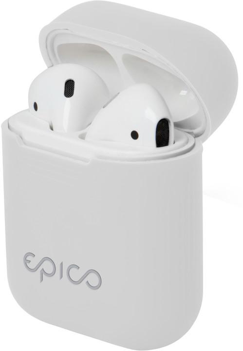 EPICO Airpods pouzdro, bílá