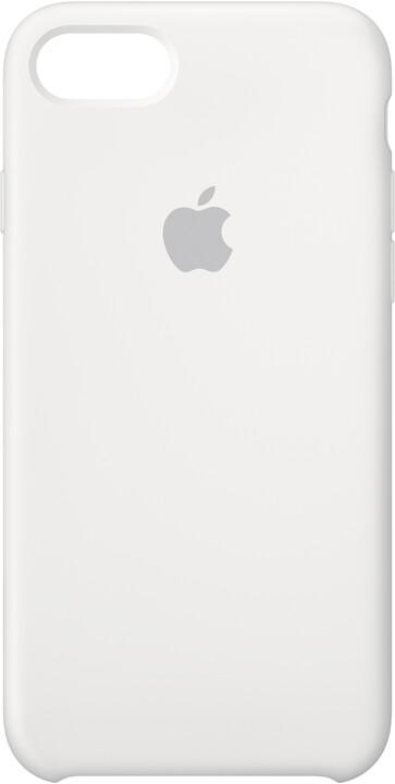 Apple Silikonový kryt na iPhone 7/8 – bílý