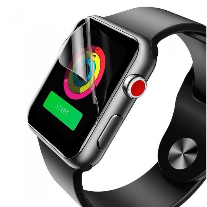 COTEetCI ochranná fólie Lyogel Glass pro Apple Watch, 44mm