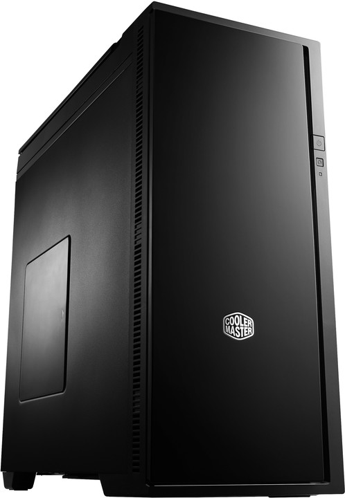 CoolerMaster Centurion Silencio 652, černá