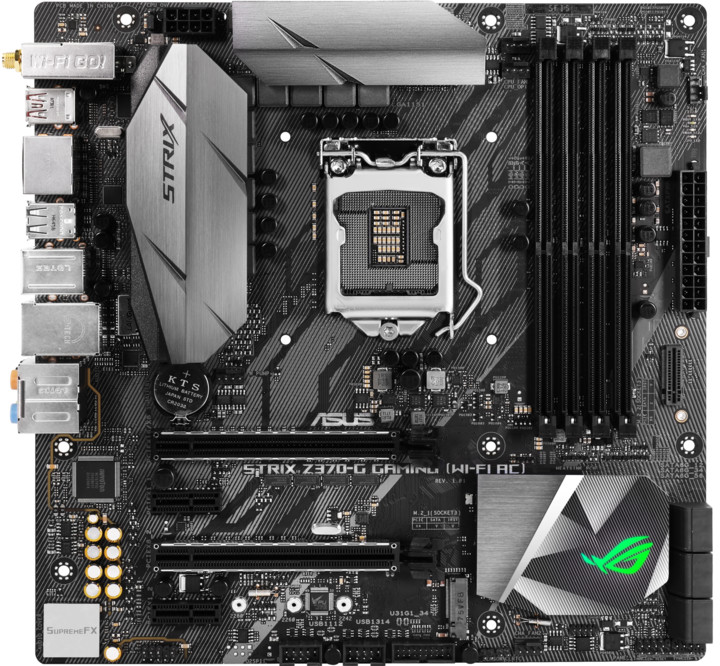 ASUS ROG STRIX Z370-G GAMING (WI-FI AC) - Intel Z370