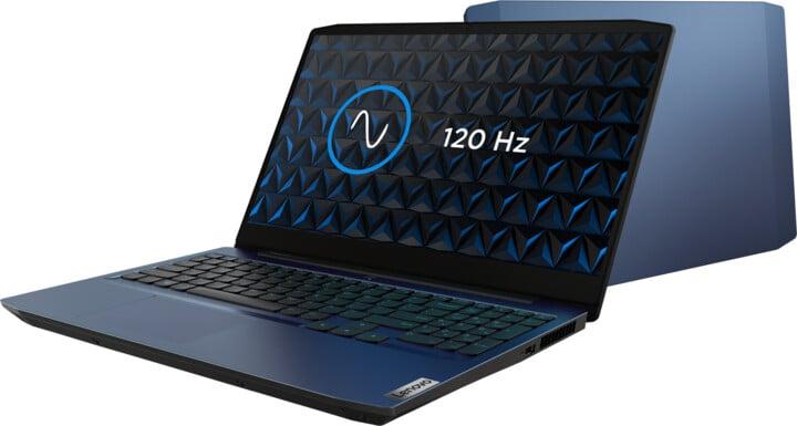 Lenovo IdeaPad Gaming 3 -15ARH05, modrá