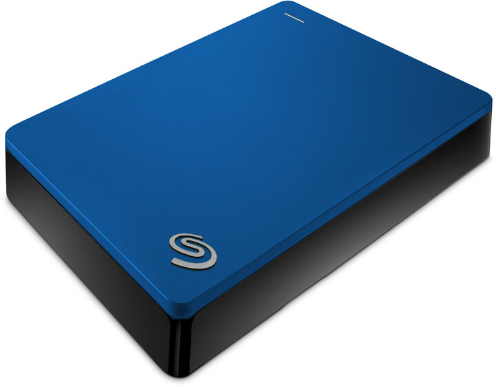 Seagate Backup Plus Portable 5TB, modrá