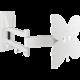 Meliconi 480852 Meliconi Slim Style 200SDR Nástěnný náklonný držák na TV, bílá