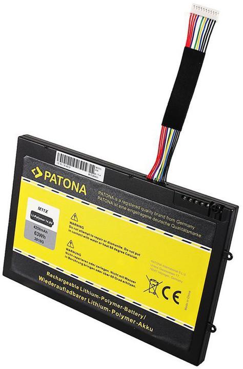 Patona baterie pro ntb DELL M11x 4250mAh Li-pol 14,8V PT6V8