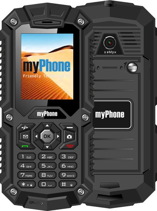 myPhone HAMMER, černá