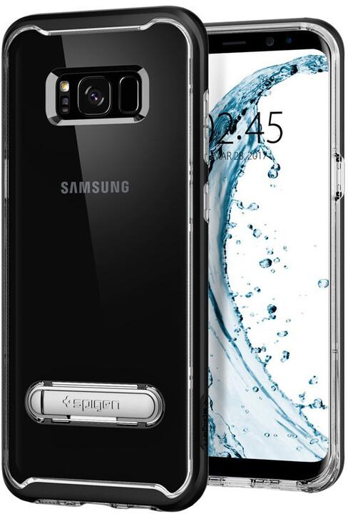 Spigen Crystal Hybrid pro Samsung Galaxy S8+, black
