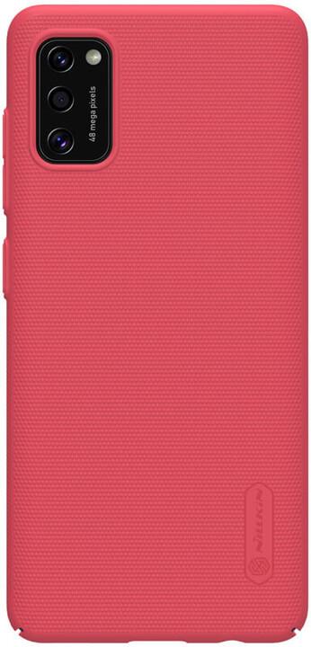 Nillkin zadní kryt Super Frosted pro Samsung Galaxy A41, červená