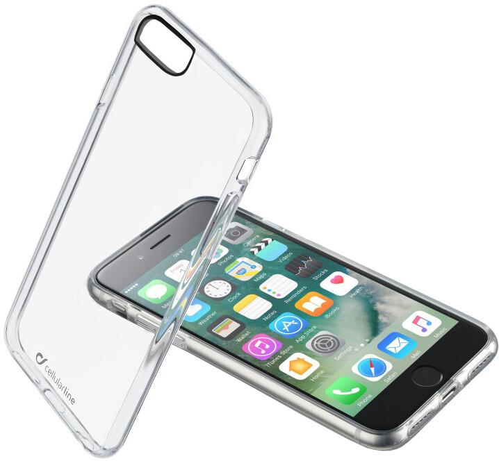 CellularLine CLEAR DUO zadní čirý kryt s ochranným rámečkem pro Apple iPhone 7