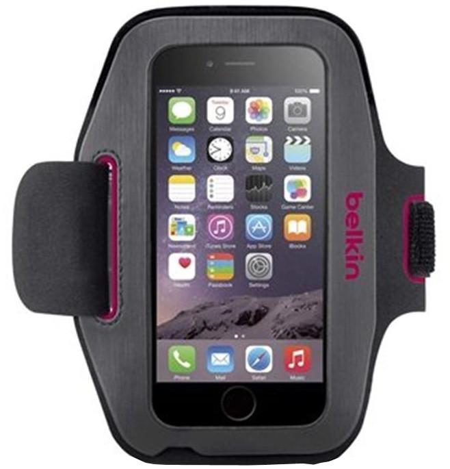 Belkin pouzdro na pazi SPORT-FIT Armband pro iPhone 6/6s, růžová