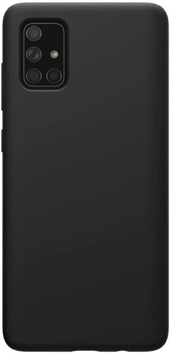 Nillkin silikonové pouzdro Flex Pure Liquid pro Samsung Galaxy A71, černá