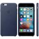 Apple iPhone 6s Plus Leather Case, tmavě modrá