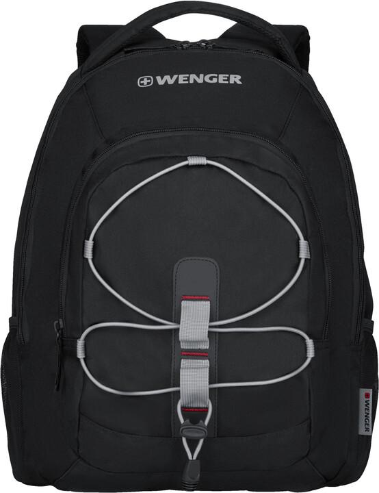 """WENGER MARS - 16"""" batoh na notebook, černá/šedá"""