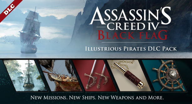 Assassin's Creed IV: Black Flag Illustrious Pirates Pack - elekronicky (PC)