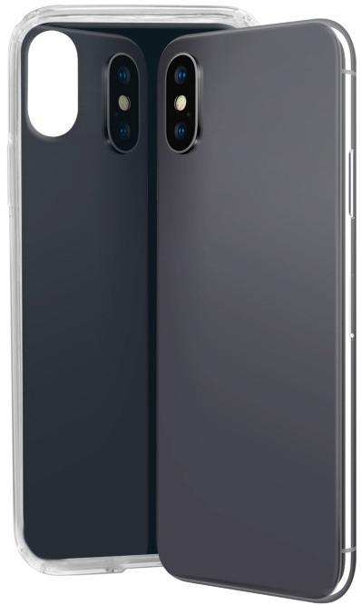 SBS Glue TPU pouzdro pro iPhone X, černá