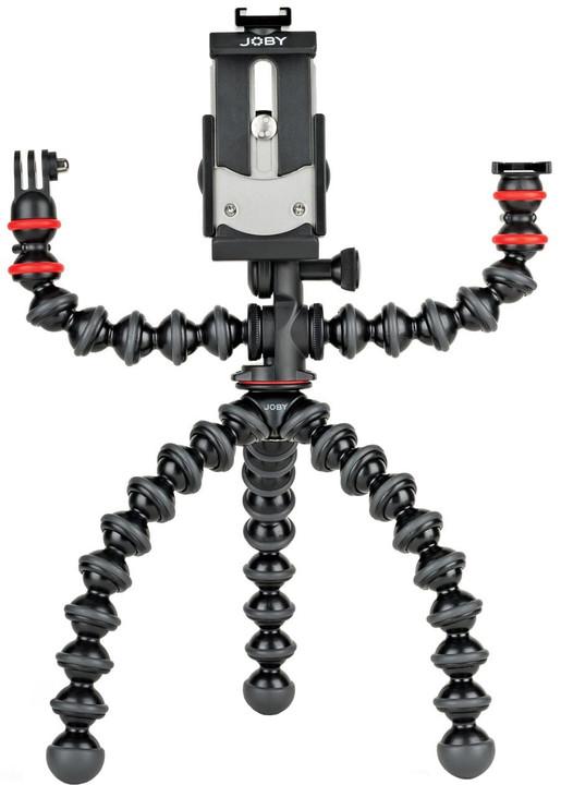 JOBY stativ GorillaPod Mobile Rig, černá/červená