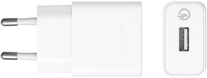 Sony UCH10 Qualcomm Quick nabíječka 1.700mAh, bílá