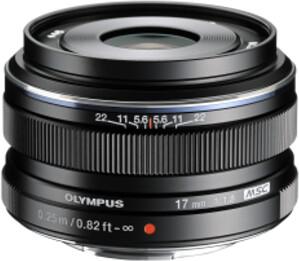 Olympus EW-M1718 - 17mm F1.8, černá