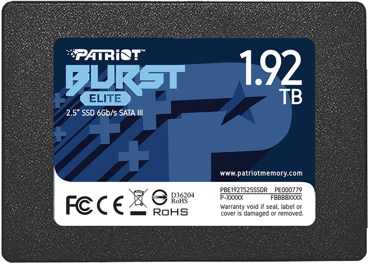 "Patriot Burst Elite, 2,5"" - 1,92TB"