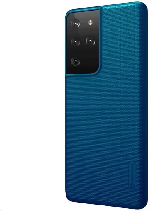 Nillkin Super Frosted zadní kryt pro Samsung Galaxy S21 Ultra, paví modrá