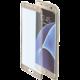 CELLY Glass ochranné tvrzené sklo pro Samsung Galaxy S7 Edge, zlaté