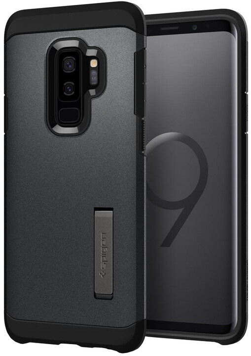 Spigen Tough Armor pro Samsung Galaxy S9+, graphite gray