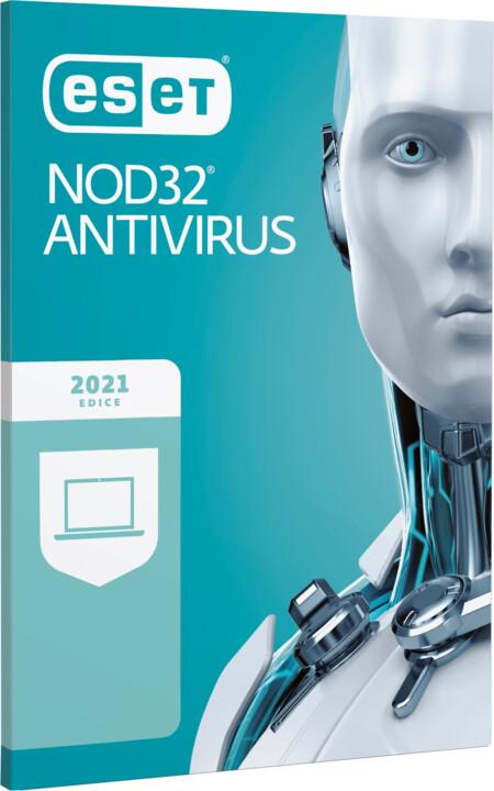 ESET NOD32 Antivirus pro 4 PC na 1 rok
