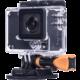 Rollei Action Cam 420 - 4K, modrá + náhradní baterie ZDARMA