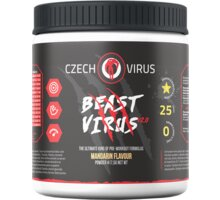 Doplněk stravy Beast Virus V2 - Mandarinka, 395g - 8595661000053