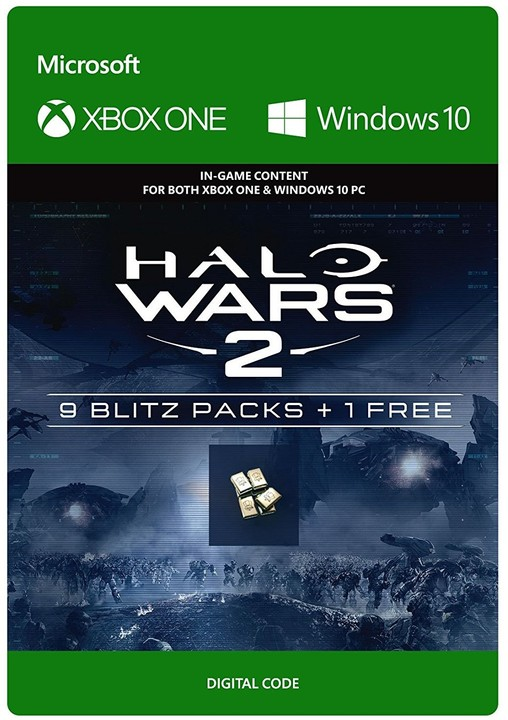Halo Wars 2: 10 Blitz Packs (Xbox Play Anywhere) - elektronicky