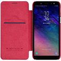 Nillkin Qin Book Pouzdro pro Samsung A600 Galaxy A6 2018, červený