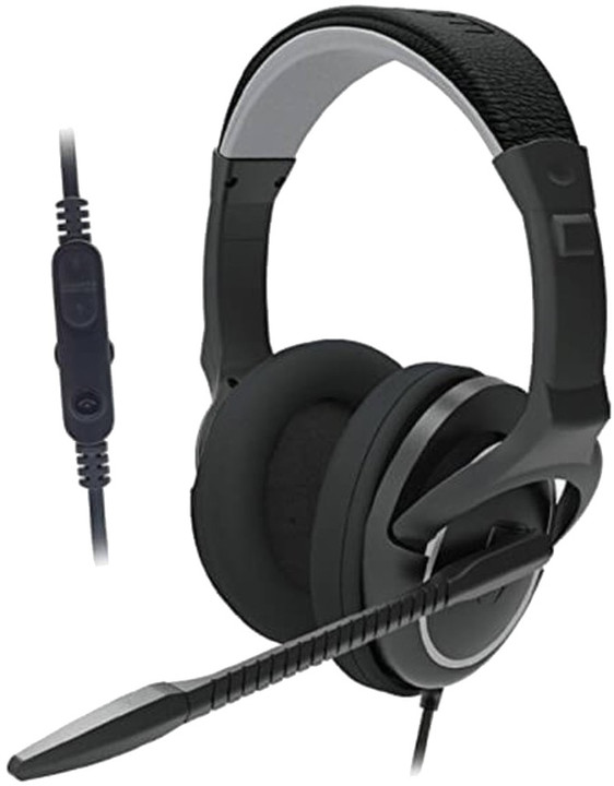 Venom Stereo Gaming Headset, černá