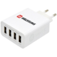 SWISSTEN travel charger smart IC with 4x USB 4,5A Power, bílá
