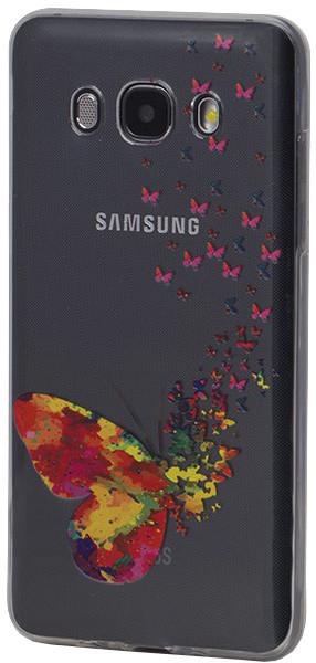EPICO pružný plastový kryt pro Samsung Galaxy J5 (2016) SPRING BUTTERFLY