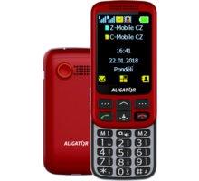 Aligator VS900 Senior, Red - Silver - AVS900RS