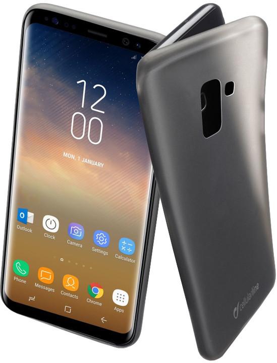 CellularLine ochranný zadní kryt INK pro Samsung Galaxy S9 Plus, černý