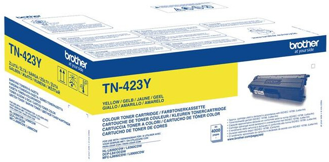 Brother TN-423Y, yellow