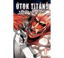 Komiks Útok titánů 01 - 9788074492808