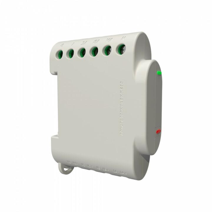 Shelly profesionální měření spotřeby 3EM, 3x 120 A, montáž na DIN lištu