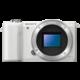 Sony Alpha 5000 + 16-50mm, bílá