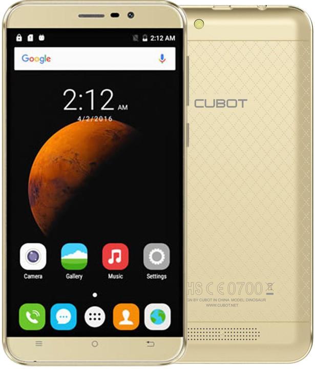 CUBOT Dinosaur - 16GB, zlatá