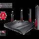 ASUS RT-AC88U Wireless AC3100  + Myš Asus ROG STRIX EVOLVE (v ceně 2099 Kč) k routeru Asus + Voucher Be a Gamer - 5x 100 Kč (sleva na hry nad 999 Kč)