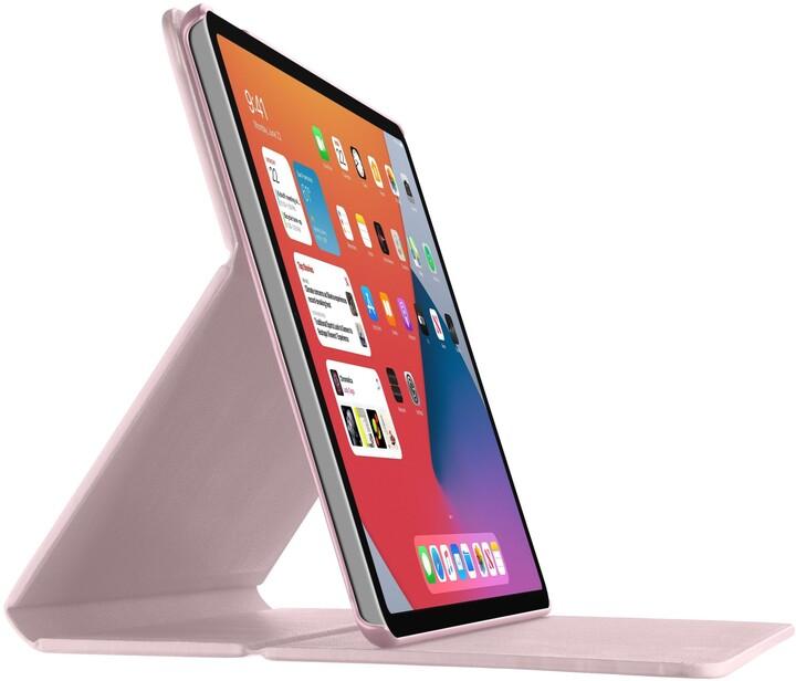 """CellularLine pouzdro se stojánkem FOLIO pro Apple iPad Air 10,9"""" (2020), růžová"""