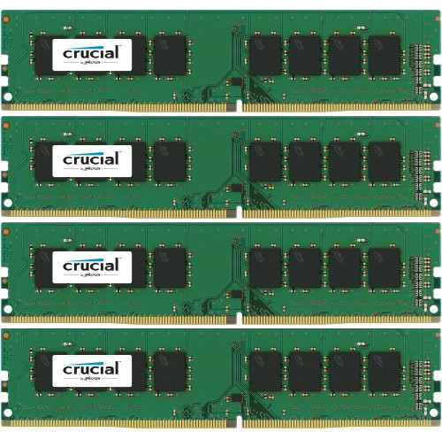 Crucial 32GB (4x8GB) DDR4 2133, Dual Ranked