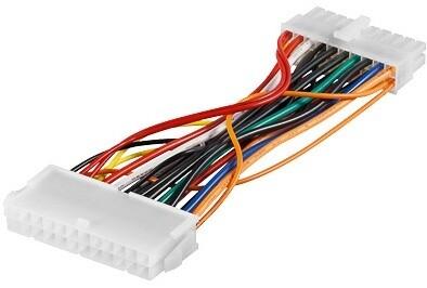PremiumCord redukce ATX zdroje 20p-24p M/F