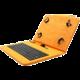 """C-TECH PROTECT NUTKC-01, pouzdro s klávesnicí pro 7-7.85"""", oranžová"""
