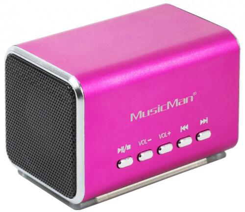 Technaxx Midi MusicMan, růžová